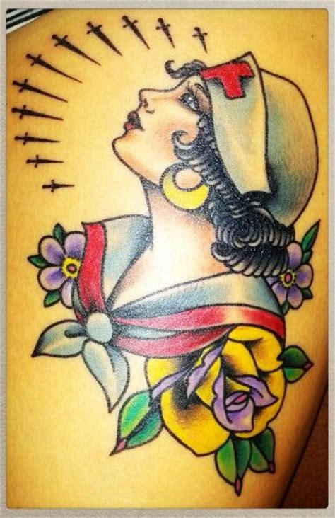 tattoo flash nurse 19 best images about nurse tattoo on pinterest