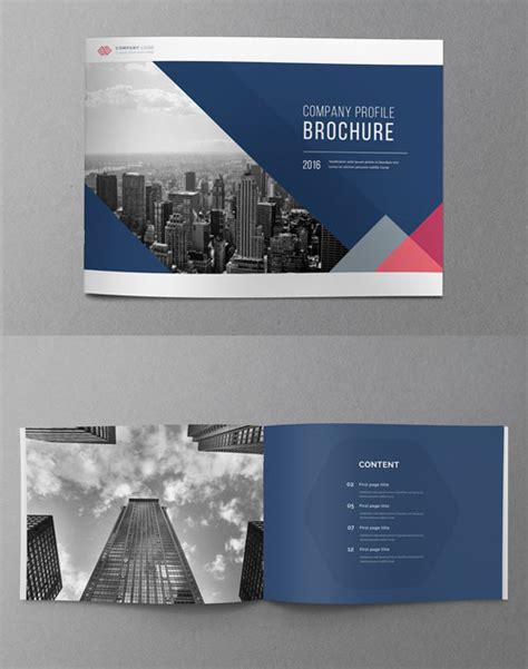 company brochure design templates 50 best bi fold brochure design templates inspiration for
