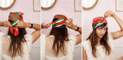 turban tutorial with square scarf oh the lovely things how to tie a turban with a square scarf