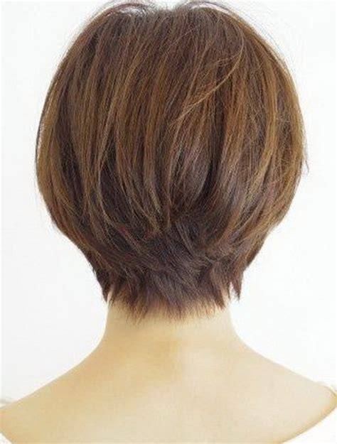 views of back of medium hairstyles front and back view of short shag hairstyles short