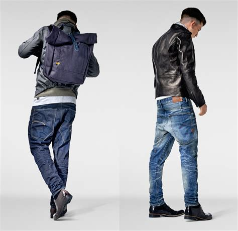 fashion star 2014 g star raw 2013 2014 winter mens lookbook denim jeans
