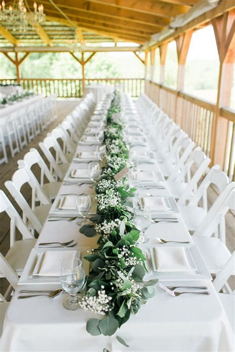 13 greenery inspired table runners provo bride