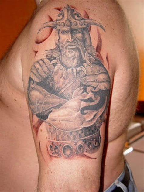 viking shoulder tattoo 55 stylish viking shoulder tattoos