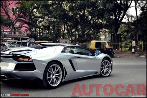 here is how many lamborghinis are in bangalore lamborghini aventador roadster launched 4 7 cr page 3 team bhp