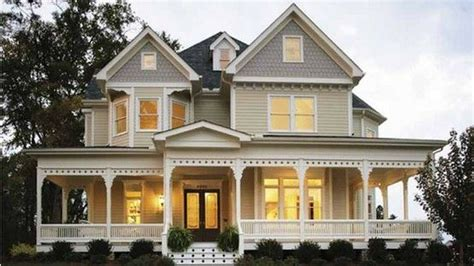 double front porch house plans trim love the big wrap around porch and double front