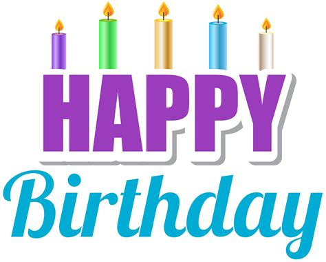 happy birthday design elements happy birthday png design elements free