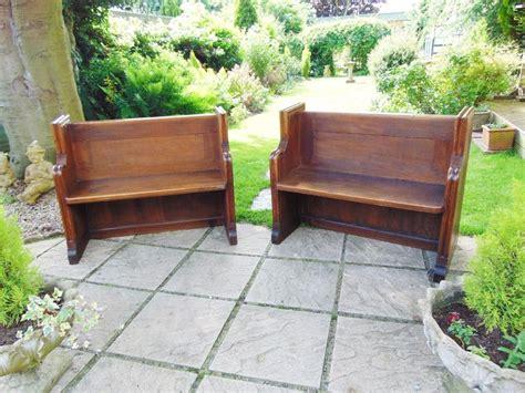 oak pew bench victorian oak pew bench hall seat antiques atlas