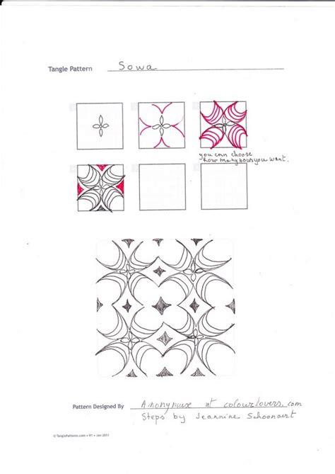 zentangle pattern handouts 123 best zentangle worksheets images on pinterest
