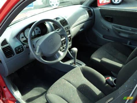Hyundai Accent 2000 Interior by Gray Interior 2005 Hyundai Accent Gls Coupe Photo