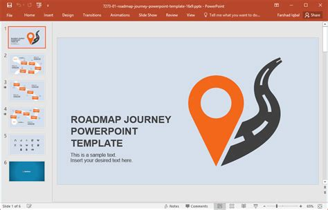 Best Roadmap Templates For Powerpoint Road Map Powerpoint Template Free