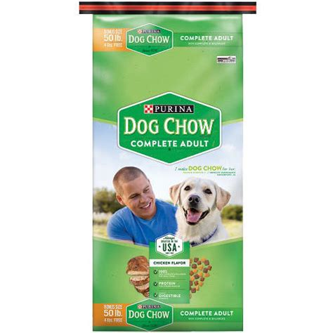 purina puppy chow complete food 50 lb bag breeds picture