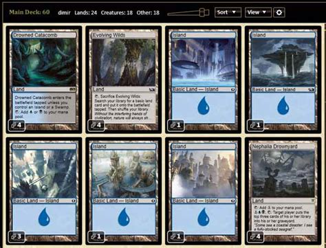 magic the gathering standard decks magic the gathering adventures dimir milling deck in