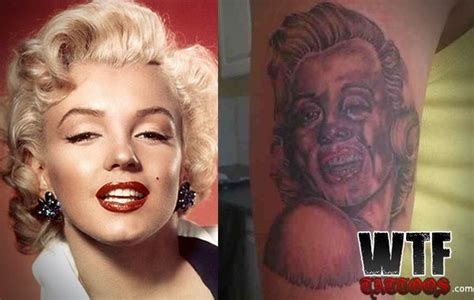 Tattoo Nightmares Marilyn Monroe | nothing better than a perfect likeness of marilyn monroe