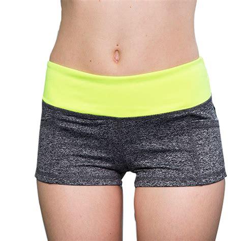 Celana Pendek Fitness Pria celana pendek olahraga wanita sport fitness running shorts size s green jakartanotebook
