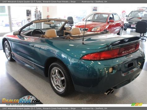 mitsubishi eclipse spyder turbo 1997 mitsubishi eclipse spyder gs t turbo monarch green