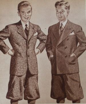 hair colourthst suits late 40s 1940s teenage fashion for boys and young men