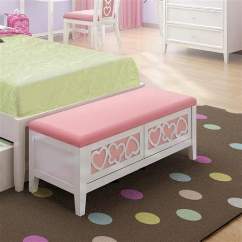 girls bench bedroom storage bench furniture ideas nice pink storage