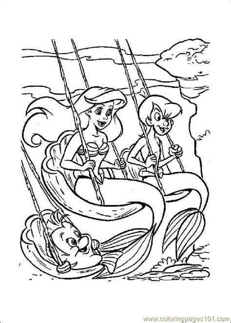 little mermaid castle coloring page little mermaid coloring page free the little mermaid