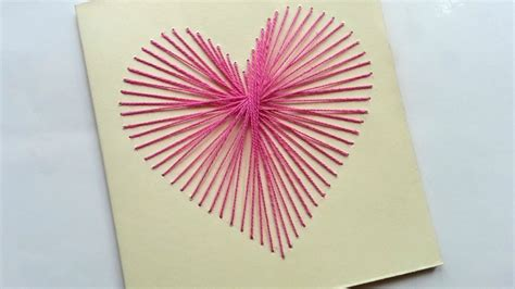 card tutorials sting how to create a beautiful string card diy