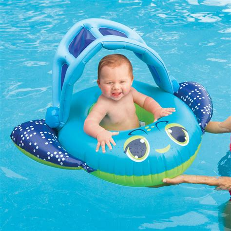swimways sun canopy baby boat swimways sun canopy baby boat blue floats splash super