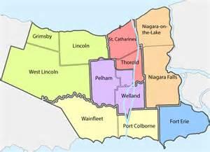 image gallery niagara map