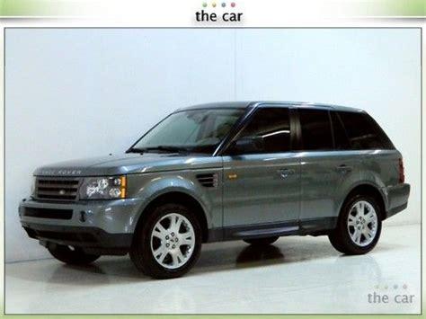 2006 range rover sport bluetooth buy used 06 range rover sport hse luxury pkg xm bluetooth