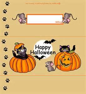 regular size black cats halloween candy bar wrapper free