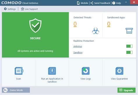 best cloud antivirus comodo cloud antivirus 1 1 384558 142