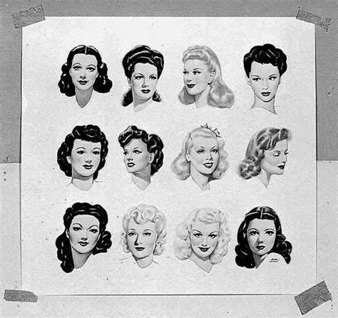 hairstyles for in early 40s best 25 1940s hairstyles ideas on pinterest vintage