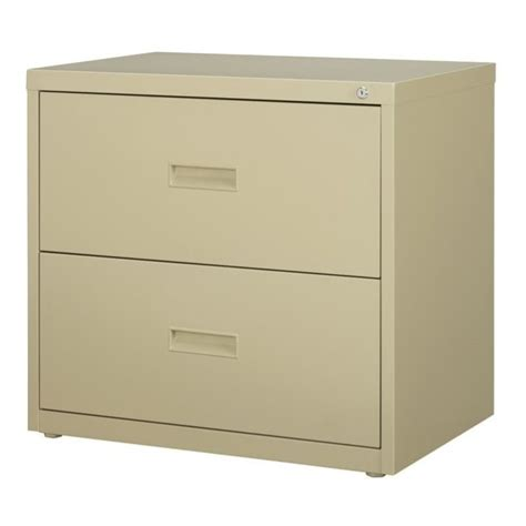 Lateral File Cabinet Hardware 2 Drawer Lateral File Cabinet In Putty 14954