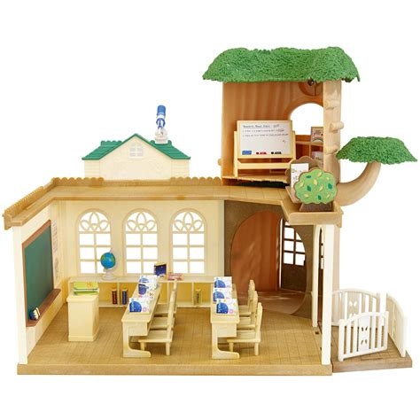 calico critters play table calico critters bunny family walmart deluxe house