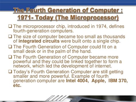 integrated circuits built on silicon chips were introduced during the generation of computing generation of computer