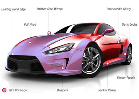 car exterior paint protection automotive paint protection and clear braw