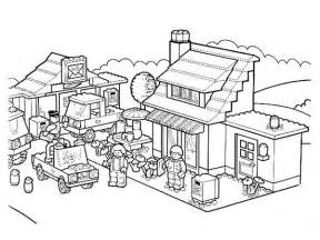 activity in lego city coloring page coloring sun