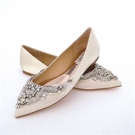 Wedding Shoes Ivory Flats by 85 Best Wedding Shoes Flat Low Heels Images On
