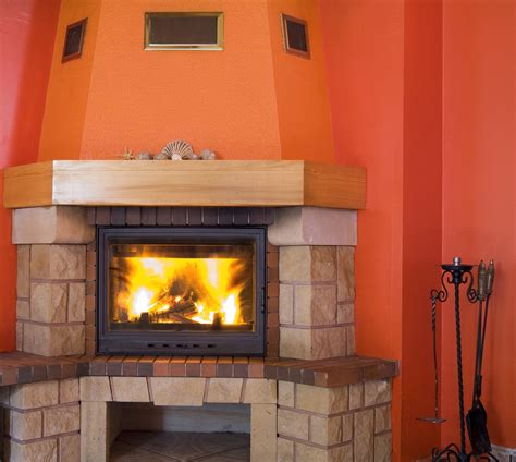wood fireplace installation wood burning or gas fireplace installation which should