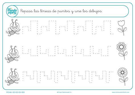 fichas de practicas del fichas de grafomotricidad mundo primaria