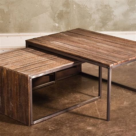 Coffee Table With Nesting Stools 30 The Best Coffee Tables With Nesting Stools