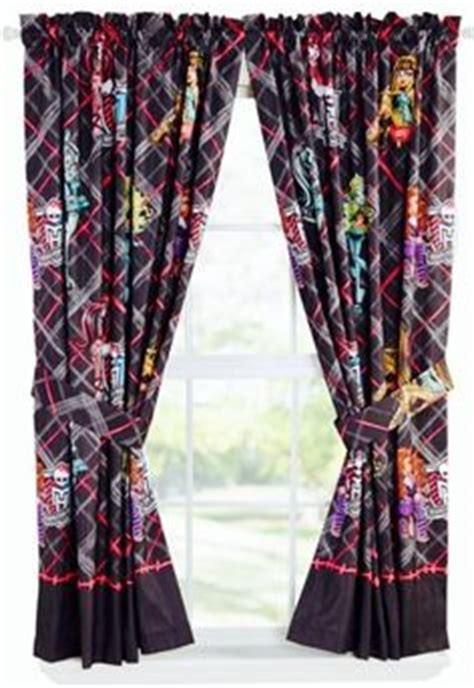monster high curtains 1000 ideas about monster high bedroom on pinterest