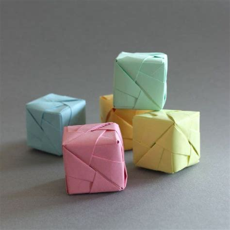 tutorial origami cube 92 best images about origami on pinterest nightmare