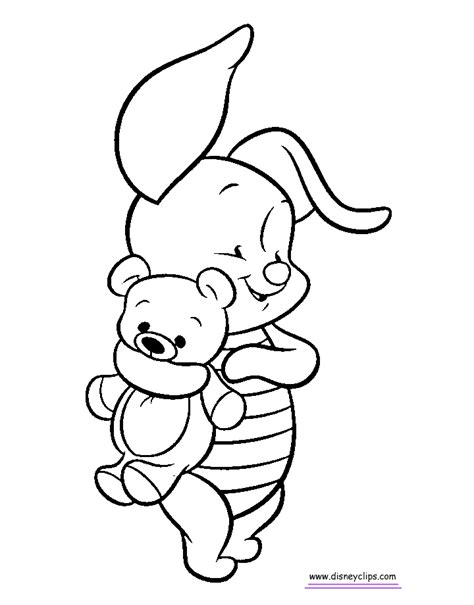 Baby Pooh Printable Coloring Pages Page 2 Disney Baby Disney Coloring Pages