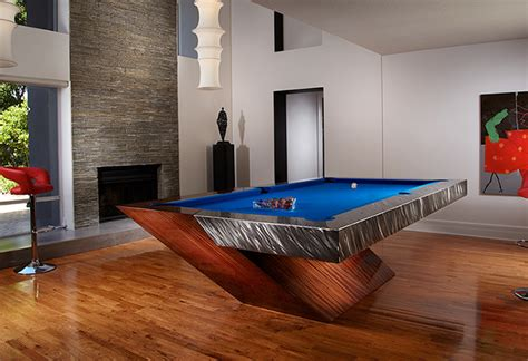 room pool table with a twist client project modern gameroom