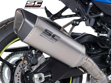 Knalpot Racing Suzuki Gsx Sc Project Carbon sc project shop suzuki gsx r 1000 17 18 sc1 r muffler