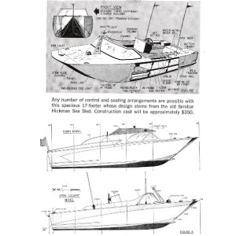 home designer pro sle plans ez build hickman type sea sled home built hull design boat