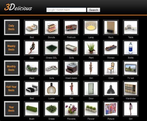 Kitchen Design Websites 8 excellent free 3d model websites for 3d studio max