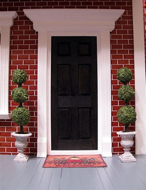 Front Door Topiaries Love This Look Home Things Front Door Topiary