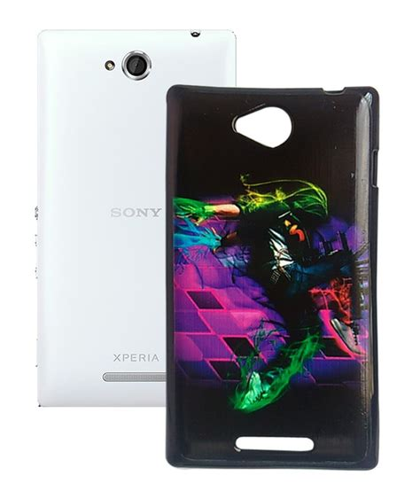 mobitrixxx designer back case cover for sony xperia c