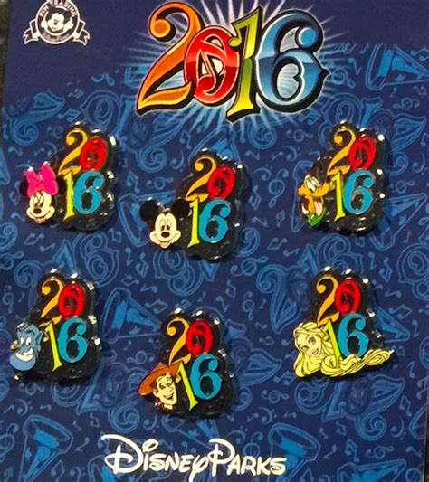Pinset Set disney parks 2016 pins disney pins