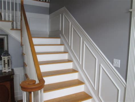 Stairway Wainscoting Ideas stair wainscoting traditional staircase manchester