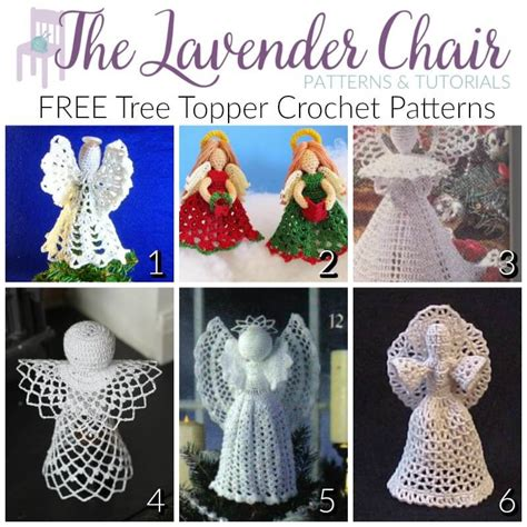 knitting pattern christmas tree topper festive and free tree topper crochet patterns the